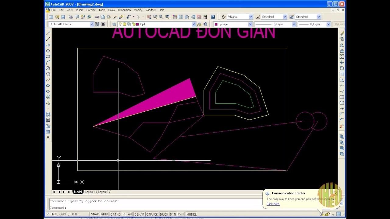 Học Autocad cơ bản: Lệnh tắt hữu dụng nhất