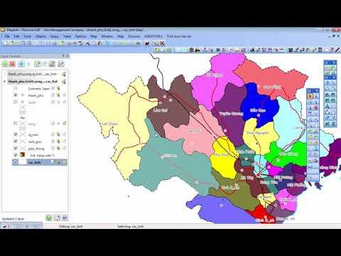 Học Mapinfo cơ bản: Bài 07 - Làm việc với layers (các lớp)