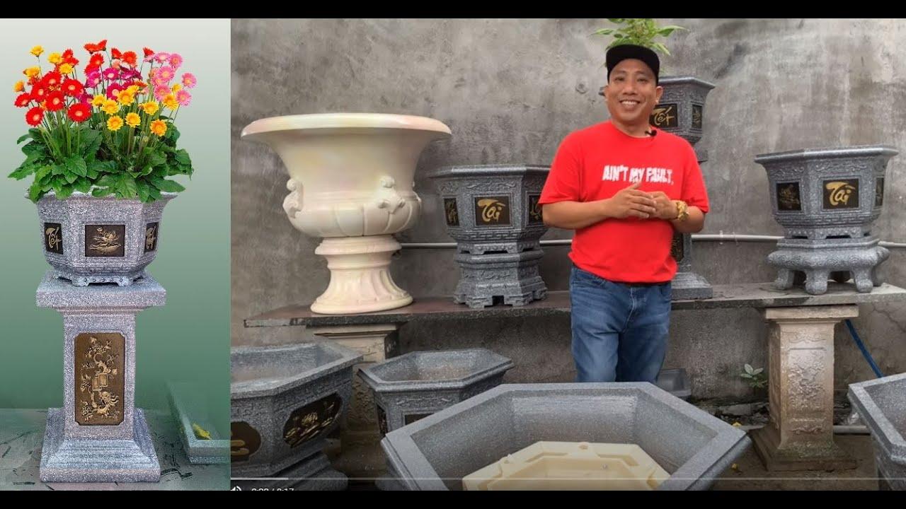 TẾT TÀI LỘC - 600K Bộ Khuôn Đúc Chậu Cảnh Nhựa ABS 38 Tại KCC Công CNC