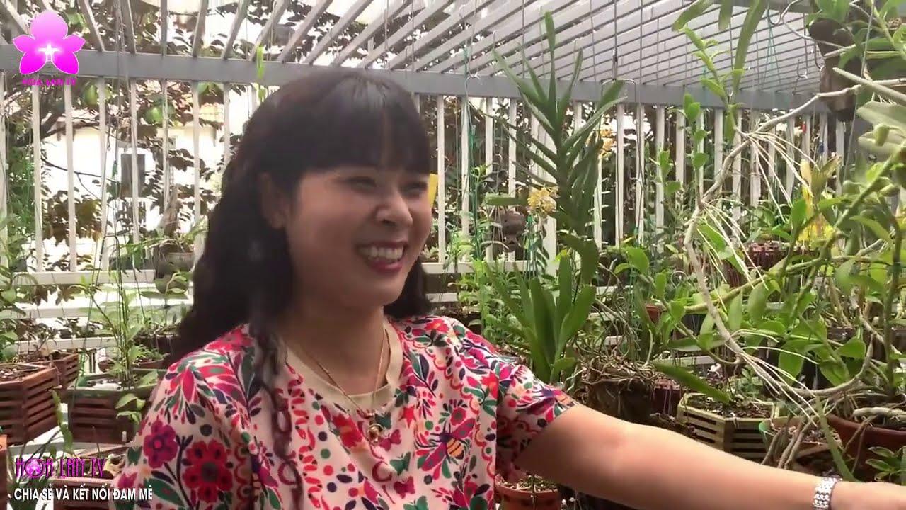 Vườn Lan ĐÁNG NGƯỠNG MỘ của ''HOTGIRL'' mang đến BÌNH YÊN