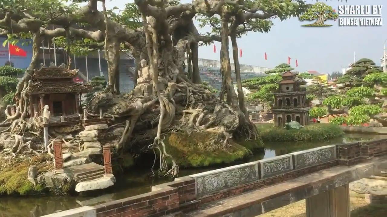 Mê mẩn vẻ đẹp của Tác Phẩm tái hiện Hồ Gươm ở triển lãm Sinh Vật Cảnh, huyện Phúc Thọ