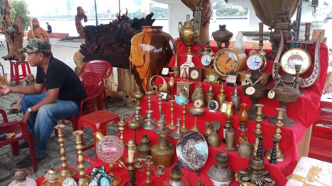 Những tác phẩm đá và gỗ nghệ thuật tại triển lãm đà nẵng