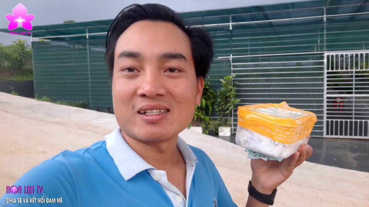 Giao lưu KIEKI Lan Giống Với Vườn Lan LƯU TRUNG DŨNG Thái Bình | Chia sẻ của NGUYỄN NGỌC HÀ