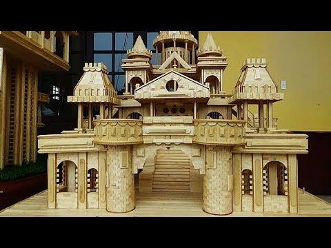 Chàng trai 25 tuổi tự xây 3 tòa lâu đài đẹp như tranh vẽ. Thán phục.