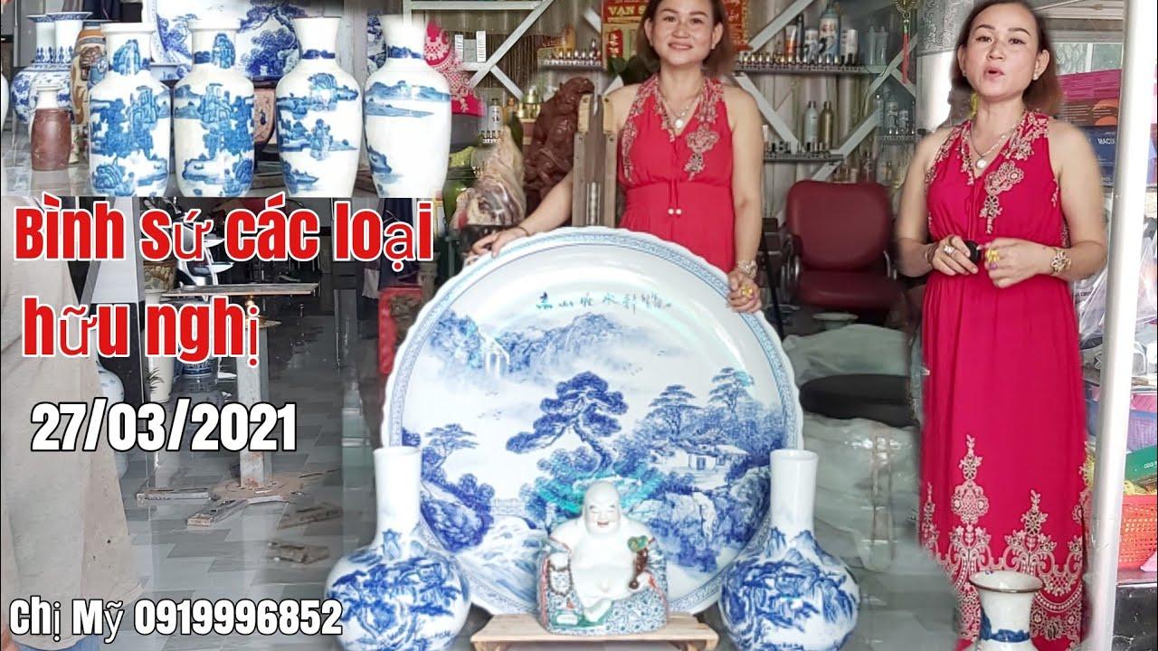 Hàng Gốm sứ các loại giá bình dân gặp Chị Mỹ 0919996852 Châu Phú AG