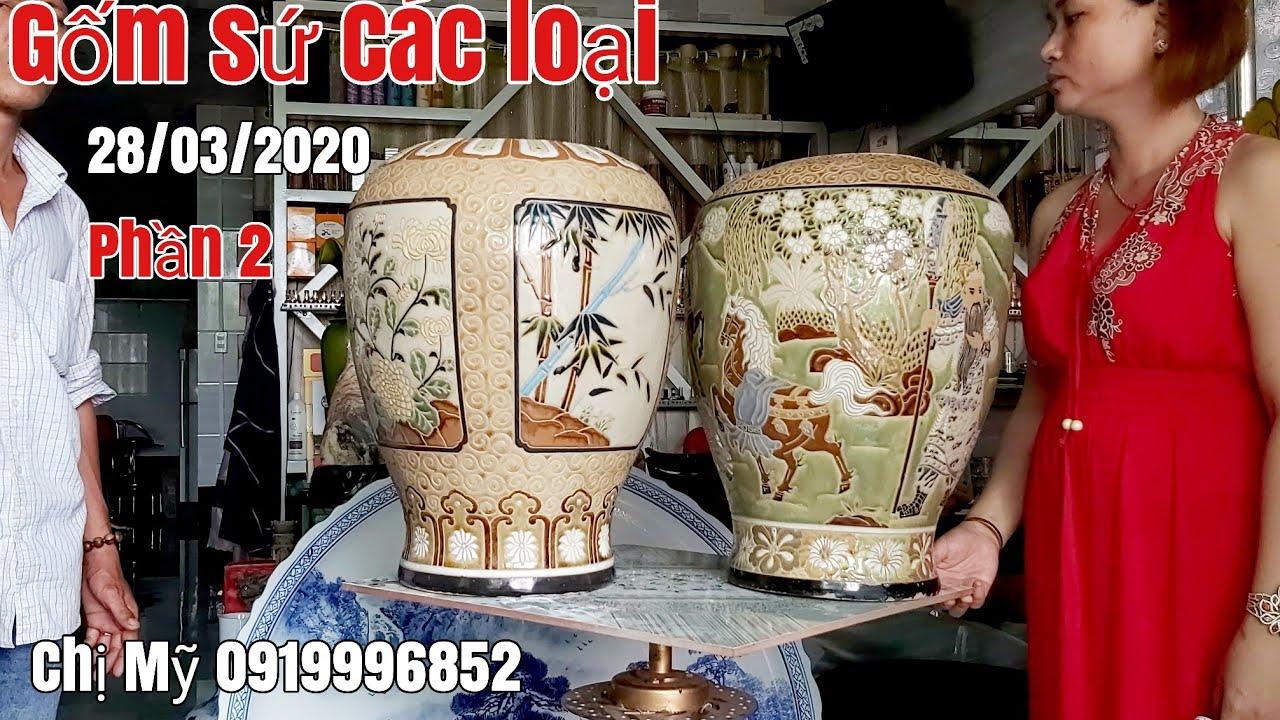 Phần 2:Đồ Gốm sứ các loại Bình xưa giá hữu nghị gặp Chị Mỹ 0919996852