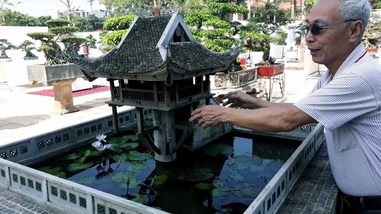 Siêu tiểu cảnh ngôi nhà được làm từ 4.400 viên ngói đẹp tầm cỡ Việt Nam