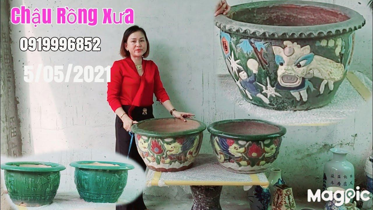 Chậu Rồng song long Biê Hòa, Lái Thêu xưa giá hữu nghị gặp chị Mỹ 0919996852 Phú Tân AG