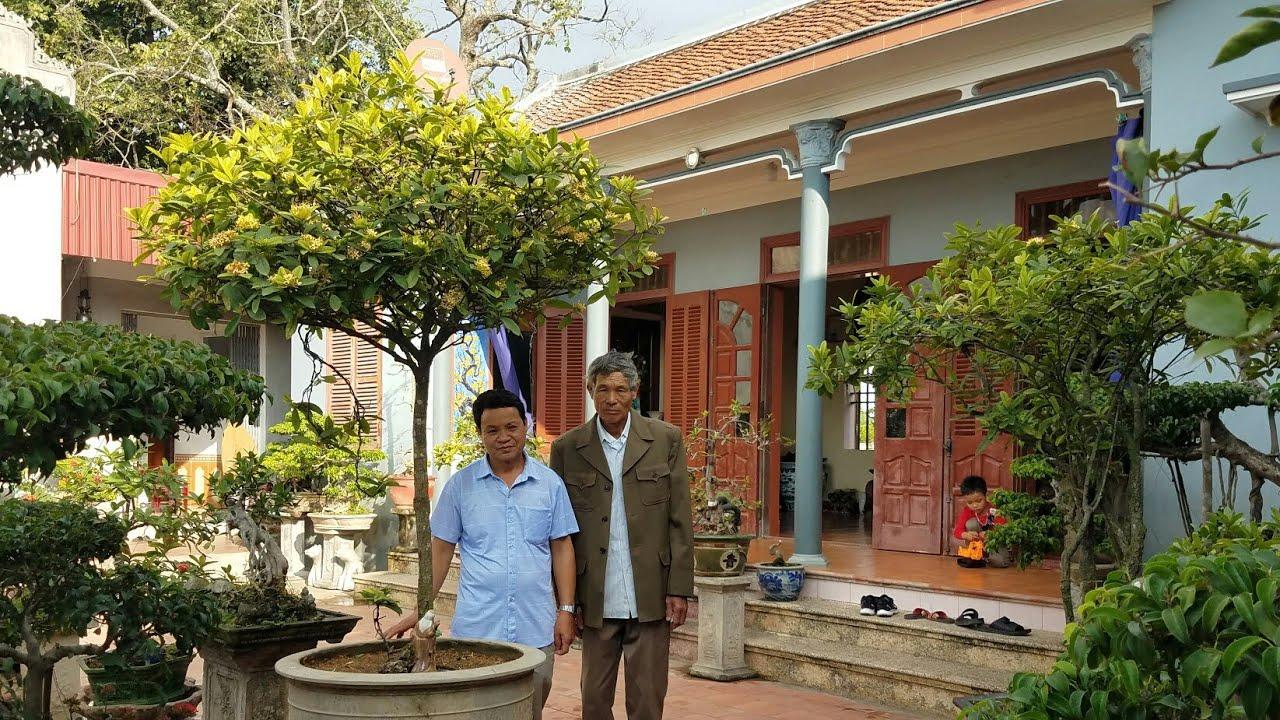 SH.3479.Thăm vườn cảnh ông Đào Quang Thể xã Trấn Dương. Vĩnh Bảo. Tp Hải Phòng.