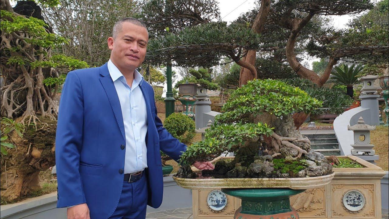 SH.3523.Thăm vườn cảnh đặc biệt Bùi Dũng(Dũng trọc) tp Việt Trì. Phú Thọ.