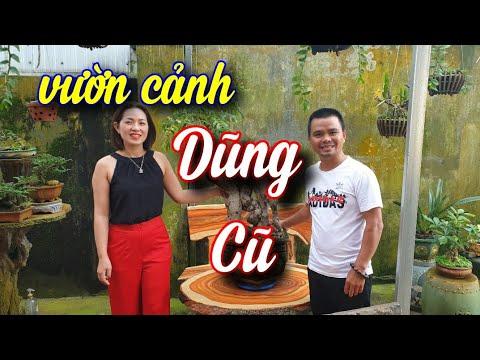 SH.4398. Thăm vườn cảnh đẹp anh Dũng Cũ thị xã Buôn Hồ Đắk Lắk.