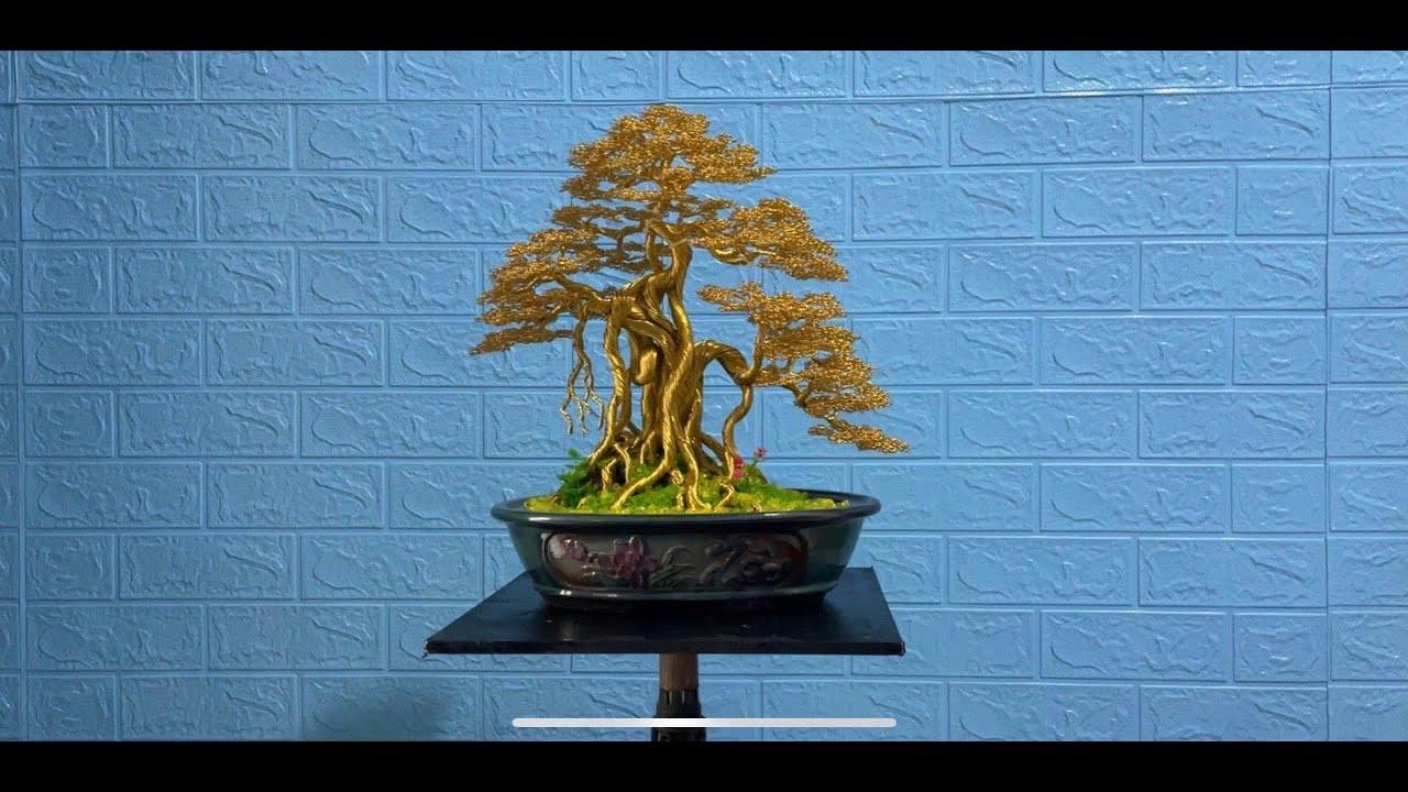 #bonsaihandmade Quang Định. bonsai handmade.hướng dẫn lam bonsai dây đồng. đa làng dáng cổ.